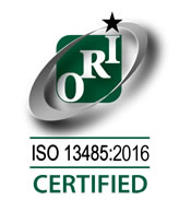 Orion ISO 13485:2016 Certified
