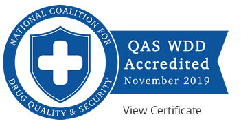QAS WDD Accredited - November 2019 - Click to View Certificate
